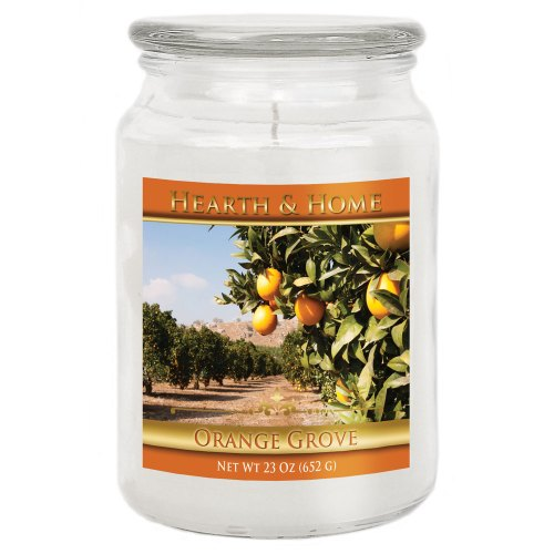 Orange Grove - Large Jar Candle