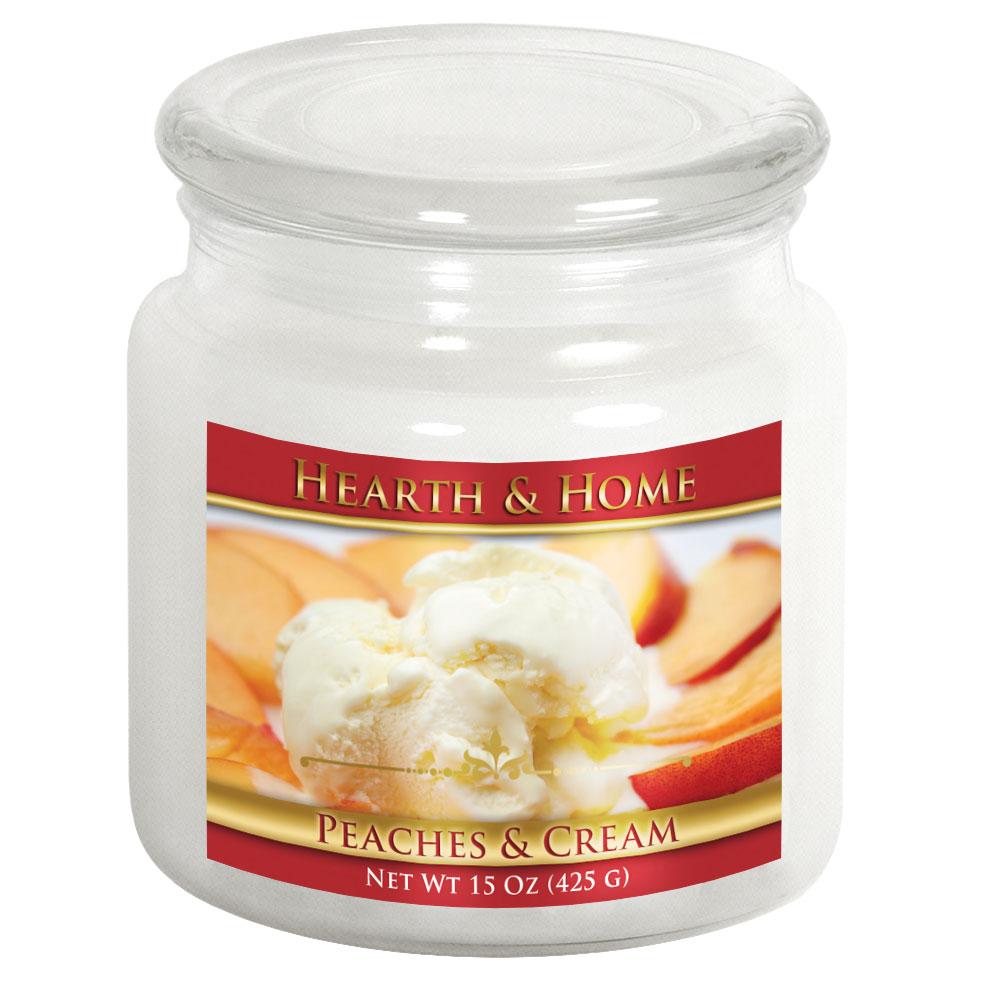 Peaches & Cream - Medium Jar Candle