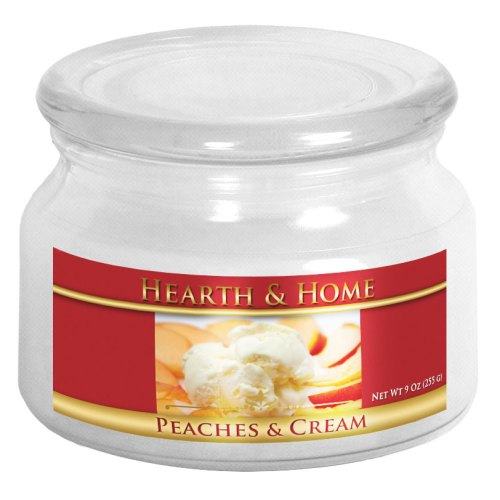 Peaches & Cream - Small Jar Candle