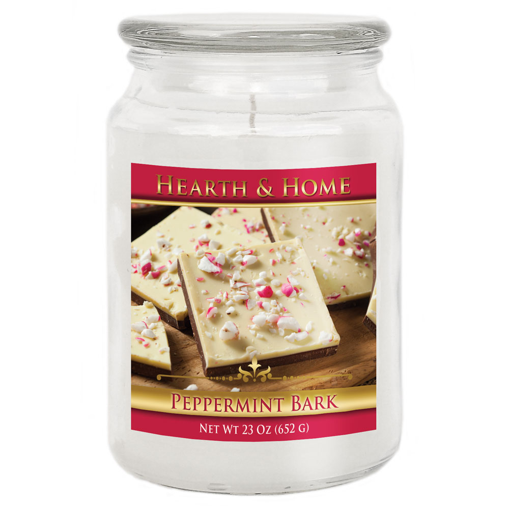Peppermint Bark - Large Jar Candle