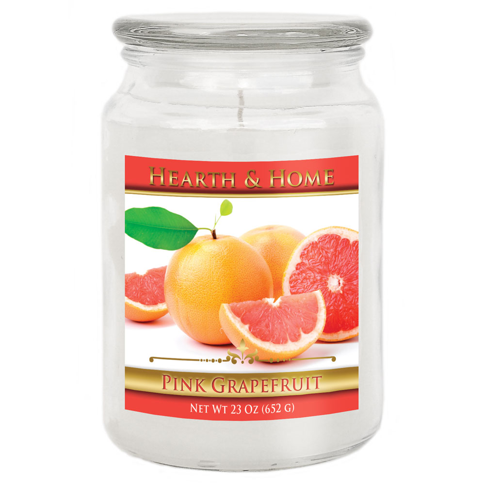 Pink Grapefruit - Large Jar Candle