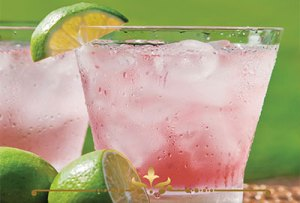 Pink Lime Scented Candles