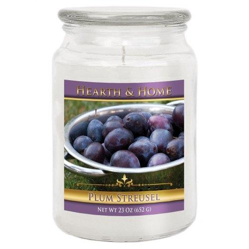 Plum Streusel - Large Jar Candle