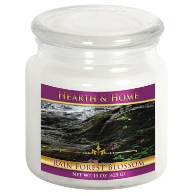Rain Forest Blossom - Medium Jar Candle