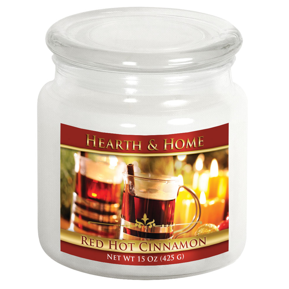 Red Hot Cinnamon - Medium Jar Candle
