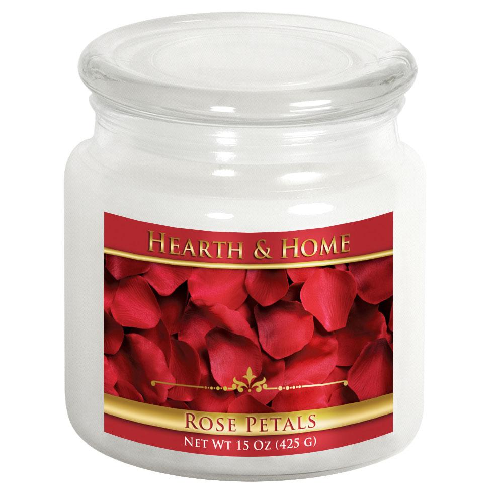 Rose Petals - Medium Jar Candle