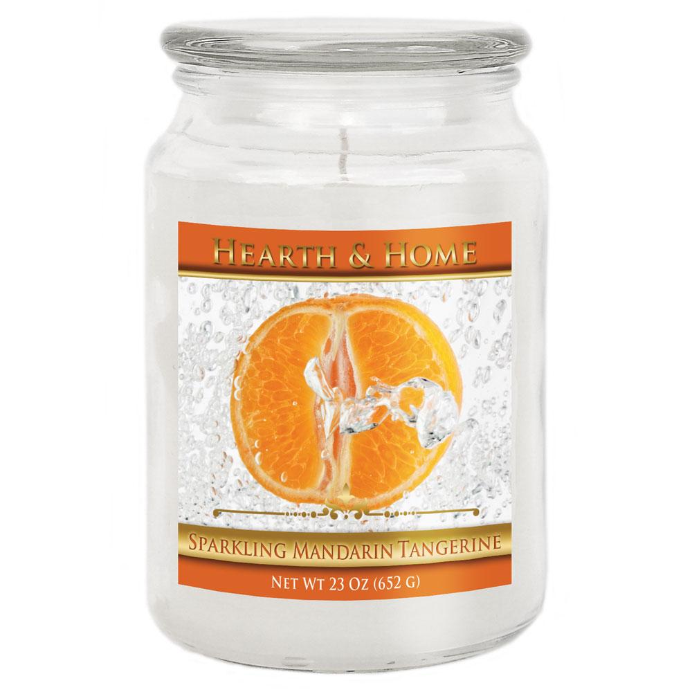 Sparkling Mandarin Tangerine - Large Jar Candle