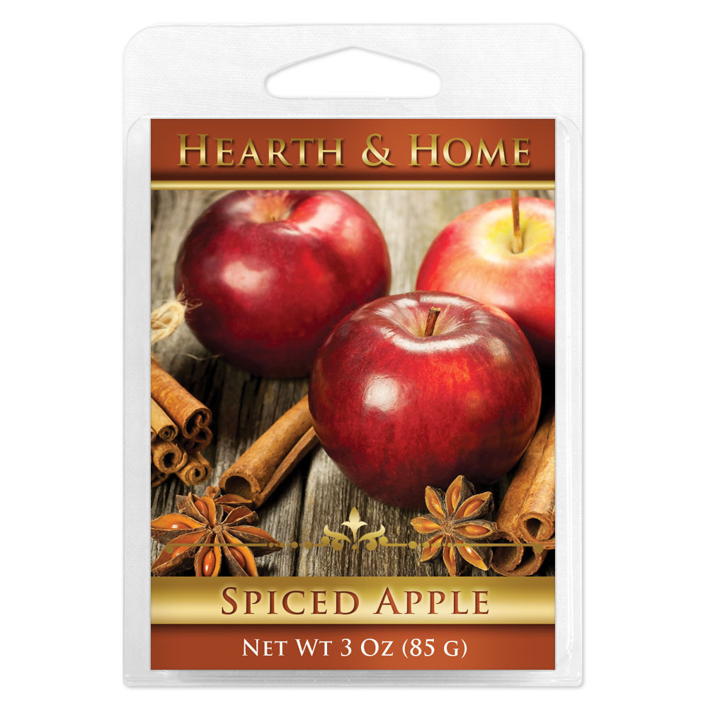 Spiced Apple Scented Wax Melt Cubes - 6 Pack