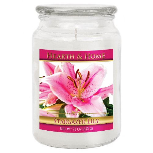 Stargazer Lily - Large Jar Candle