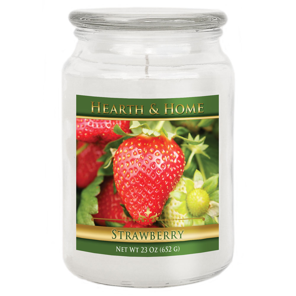Strawberry - Large Jar Candle