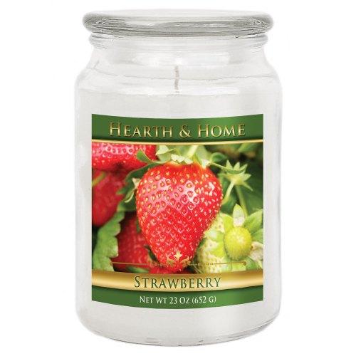 Strawberry - Large Jar Candle