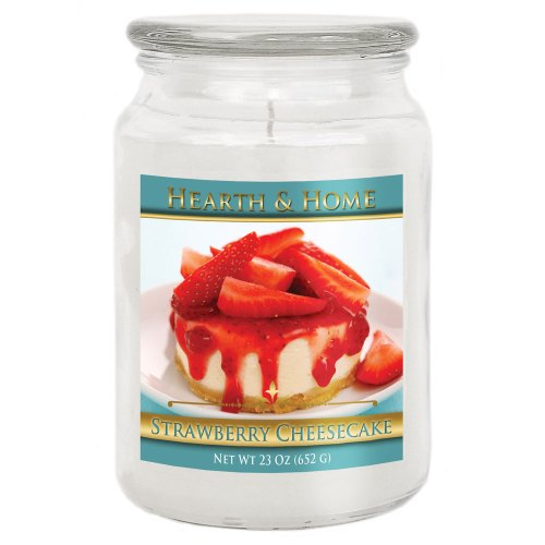 Strawberry Cheesecake - Large Jar Candle
