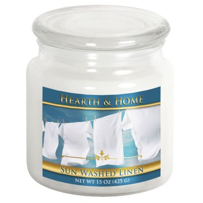 Sun Washed Linen - Medium Jar Candle