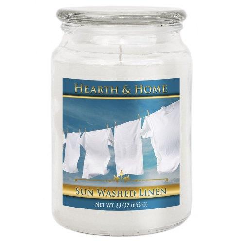 Sun Washed Linen - Large Jar Candle