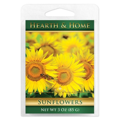 Sunflowers Scented Wax Melt Cubes - 6 Pack