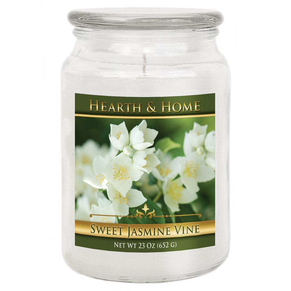 Sweet Jasmine Vine - Large Jar Candle