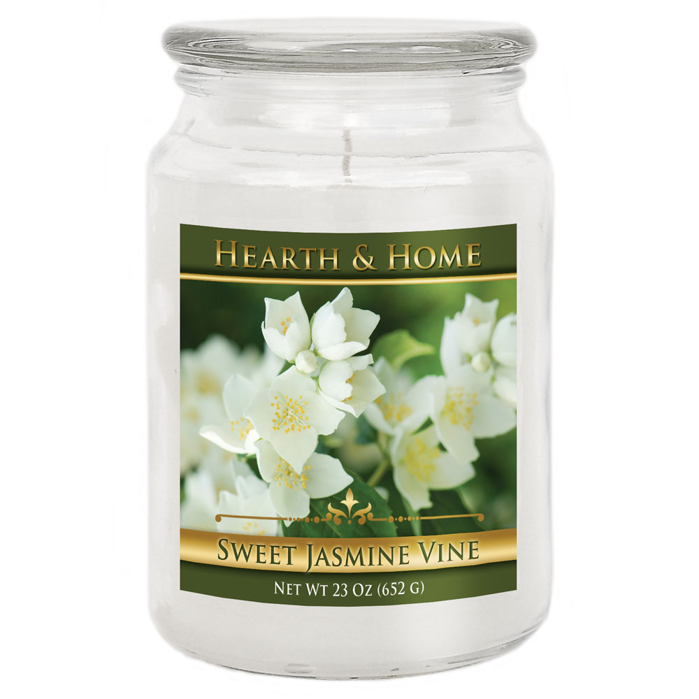 Sweet Jasmine Vine - Large Jar Candle