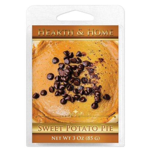 Sweet Potato Pie Scented Wax Melt Cubes - 6 Pack