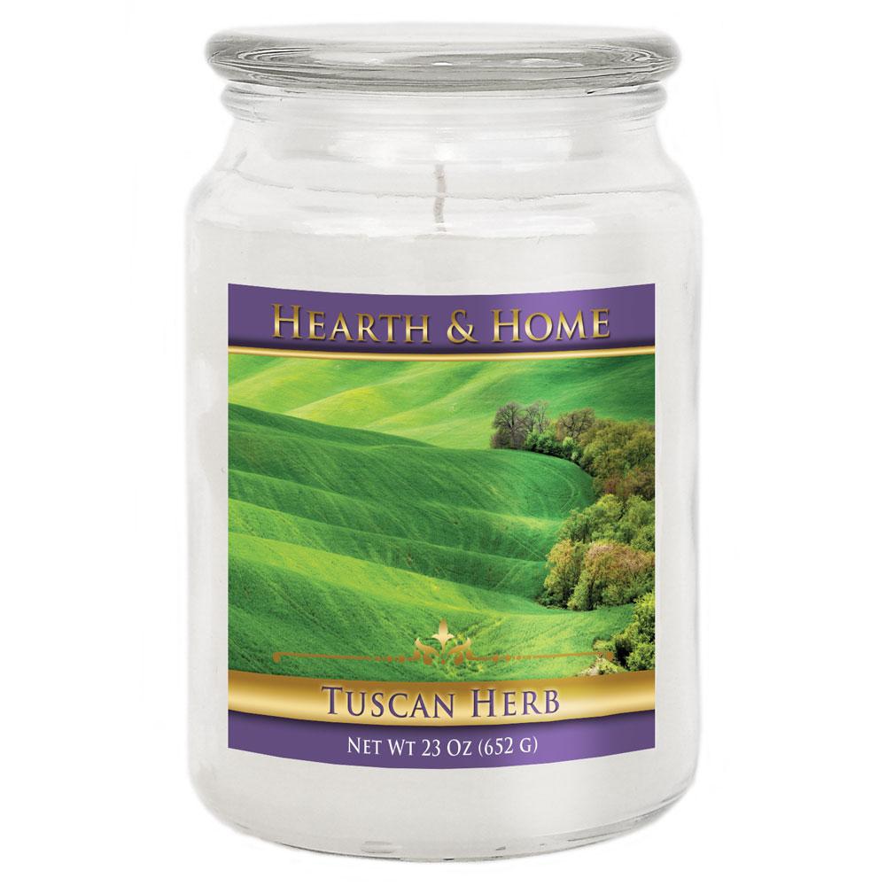 Tuscan Herb - Large Jar Candle