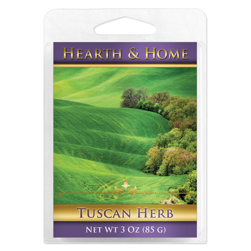 Tuscan Herb Scented Wax Melt Cubes - 6 Pack