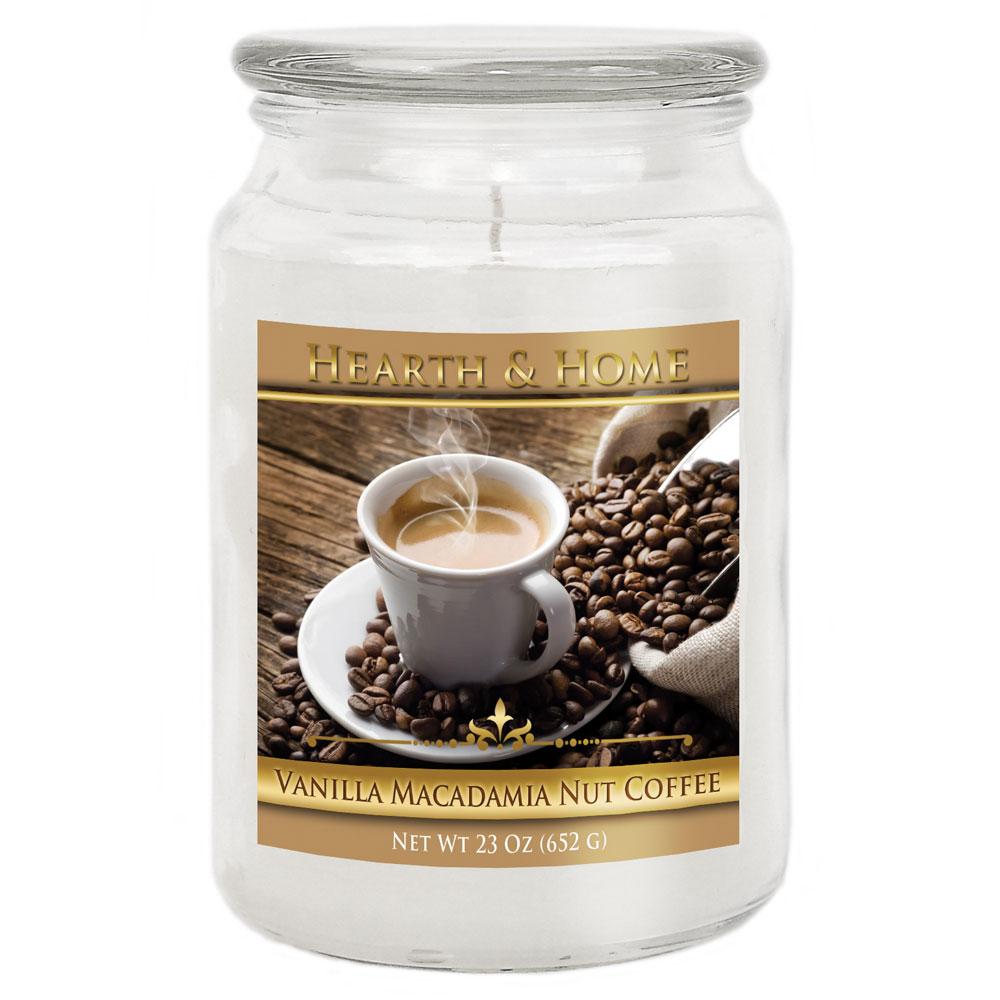 Vanilla Macadamia Nut Coffee - Large Jar Candle