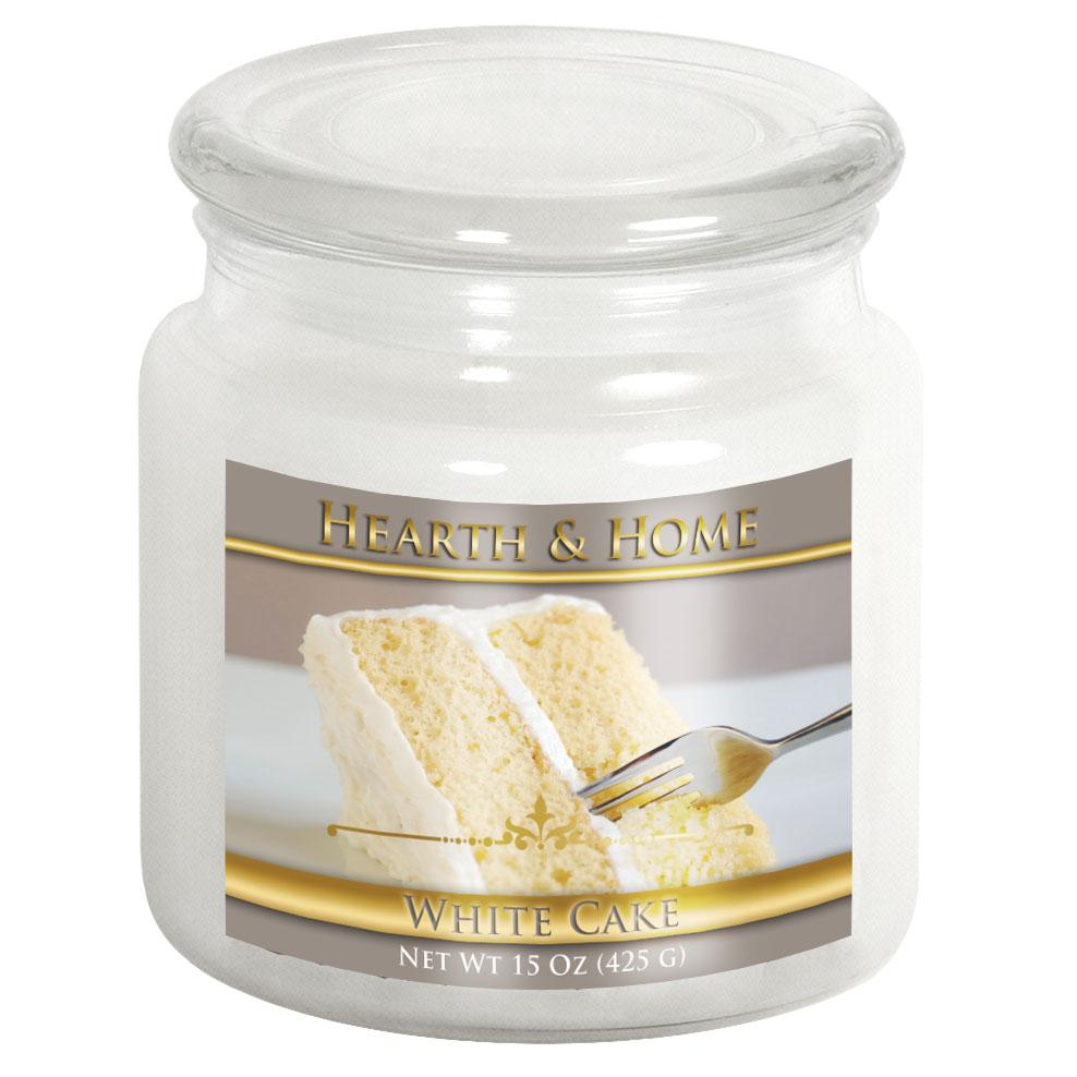 White Cake - Medium Jar Candle