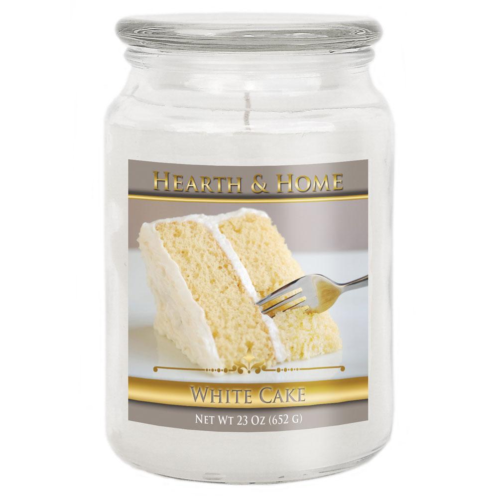 White Cake - Large Jar Candle