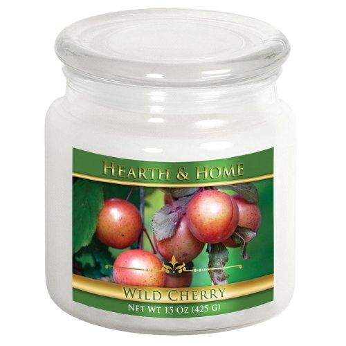 Wild Cherry - Medium Jar Candle