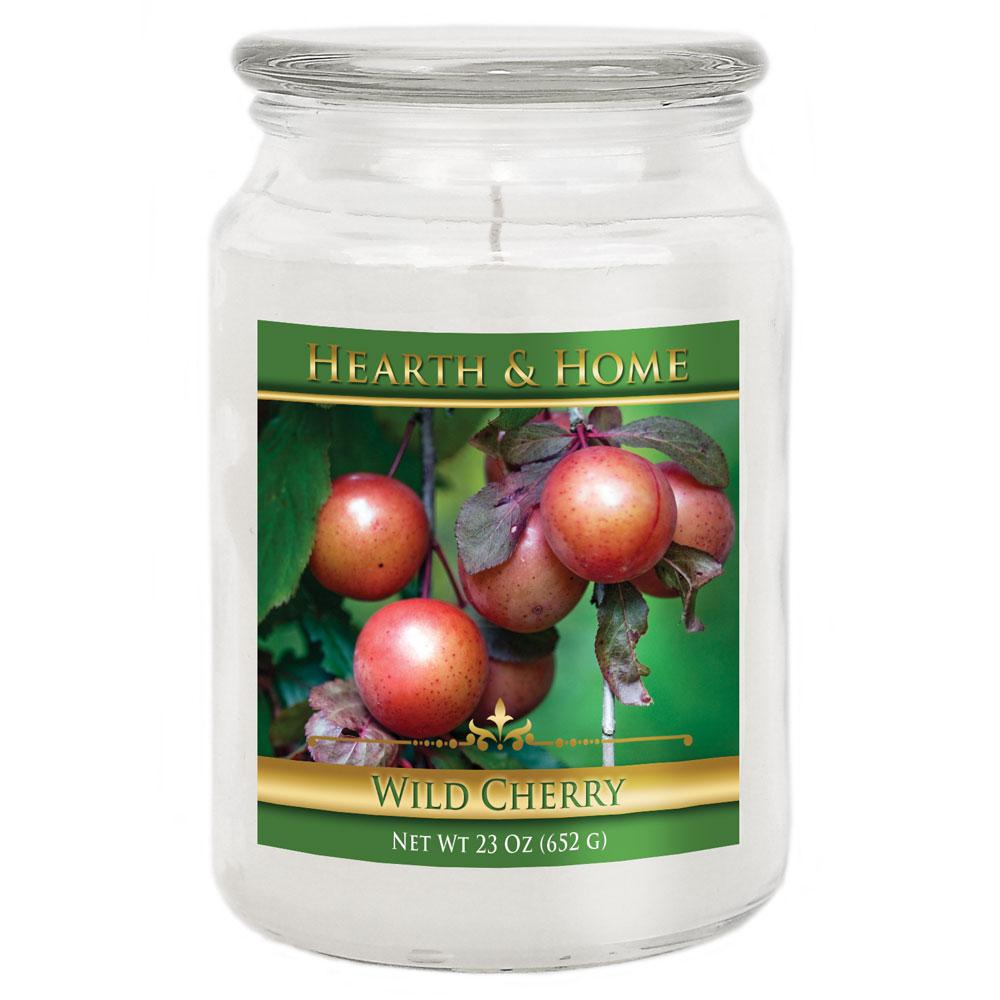 Wild Cherry - Large Jar Candle