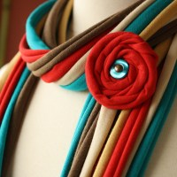 Fabric Scarves and Necklaces by Pronta | Handmade Jewlery ...