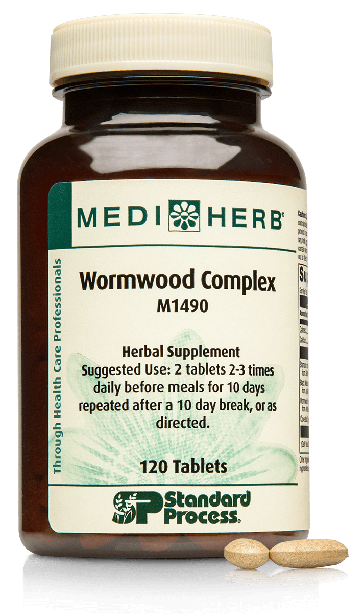 Wormwood Complex 120 Tablets - Heart Healthy Homes