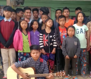 these orphan children from India loved the guitar