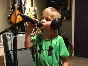 Treyden singing Thanks To You
