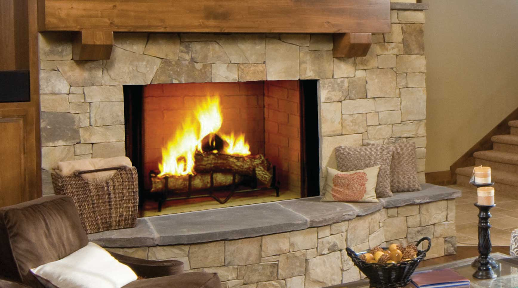 Majestic Biltmore Wood Fireplaces
