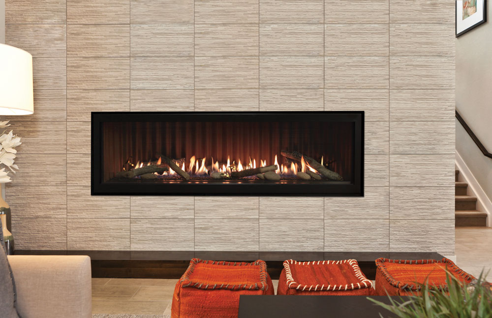 Boulevard 60Inch Linear Direct Vent Fireplace