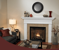 Tahoe Premium Clean Face Traditional Direct Vent Fireplace