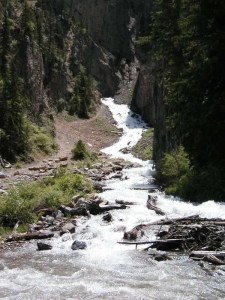 Photo of Intermittent Spring in Wyoming