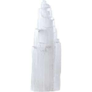 Six inch selenite iceberg tower.