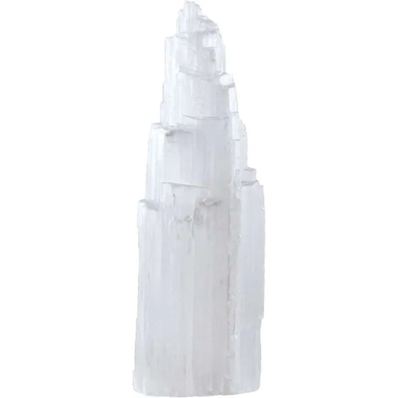 Six inch selenite iceberg tower.