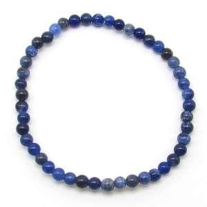 Sodalite 4mm bead bracelet.