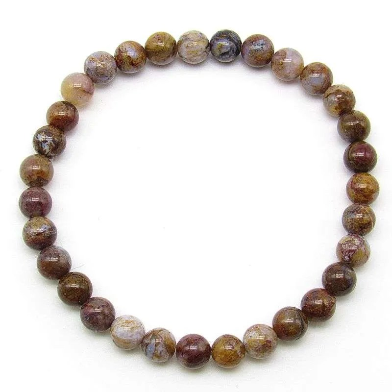 Pietersite 6mm bead bracelet
