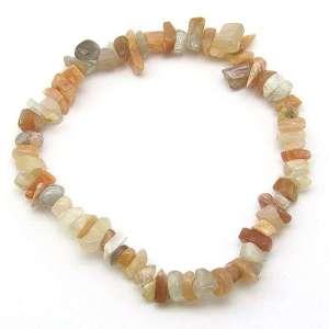 Moonstone chip bracelet.