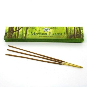 Green Tree Mother Earth incense sticks.
