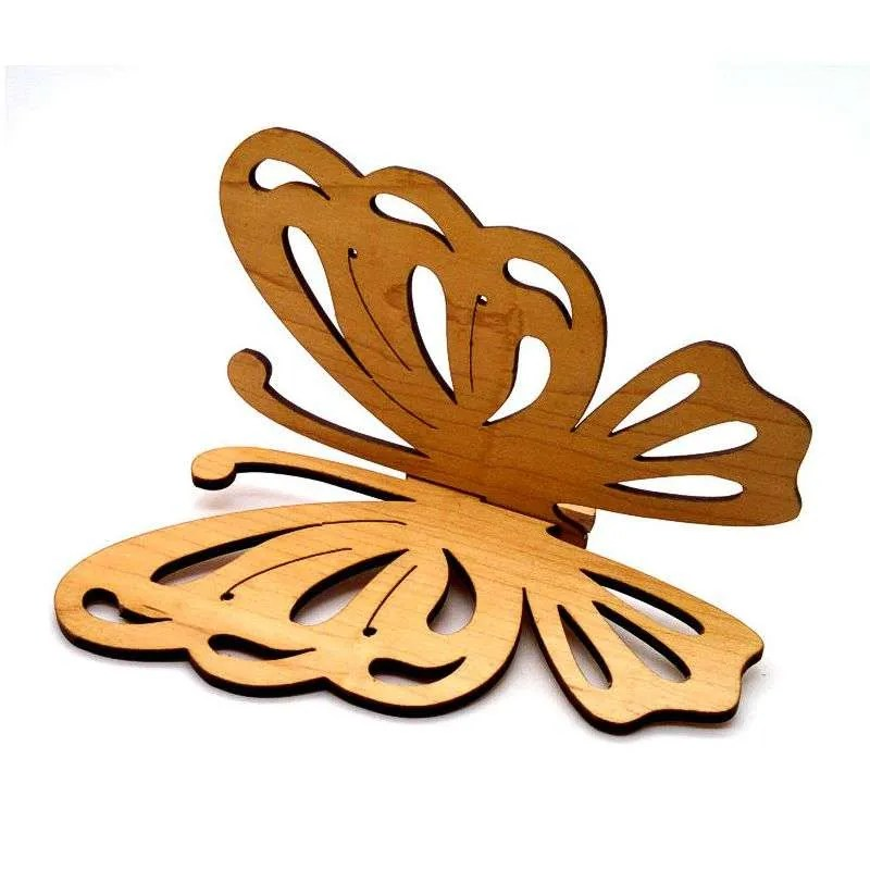 Maple wood butterfly wall hanging
