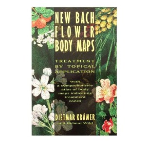 Front cover of the New Bach Flower Body Maps by Dietmar Kramer