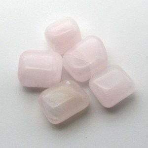 Tumbled mangano calcite.