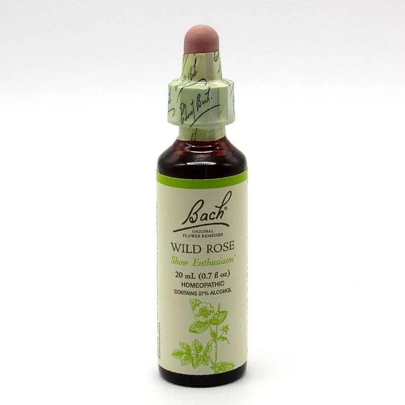 Bach Flower Remedy - Wild Rose