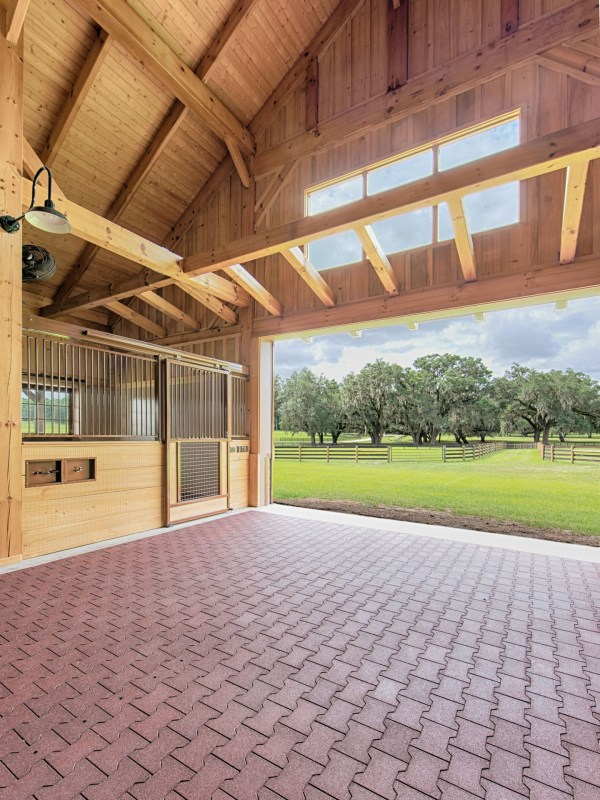 Ocala Thoroughbred Barn Hearthstone Homes