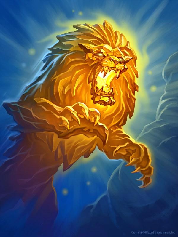 Hearthstone Crystal Lion