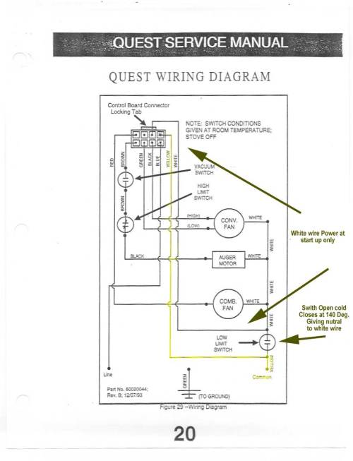 small resolution of quest only not quest plus wire diagram